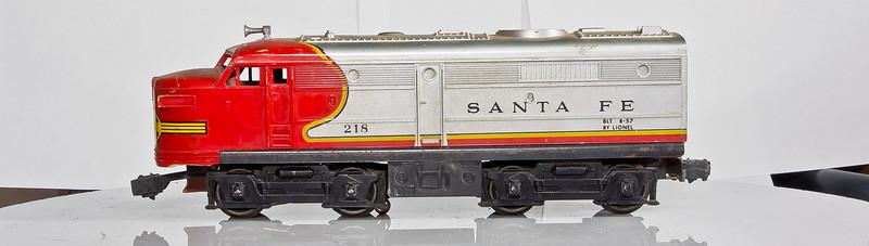 218 Santa Fe Alco AA Diesel Locomotive, Dummy(2)