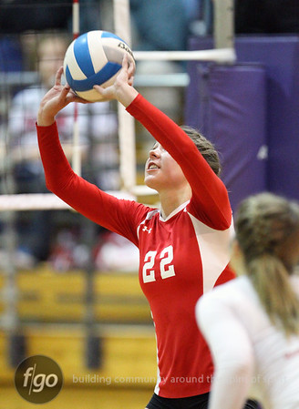 Robbinsdale Armstrong v Minneapolis Southwest Volleyball 10-29-10