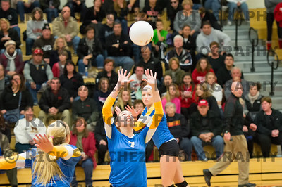 12-10-30 Sandburg and Stag Girls Volleyball Sectional