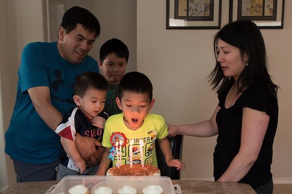 Henry's 6th Birthday