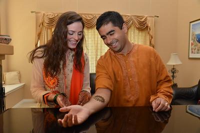 Satej & Kara- Mehendi & Gift Ceremony