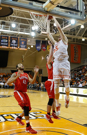 2016 Mercer vs. Radford, Men's Basketball