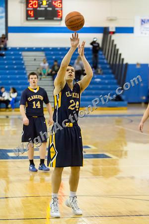 2014 02 27 Clarkston Varsity Basketball vs Rochester