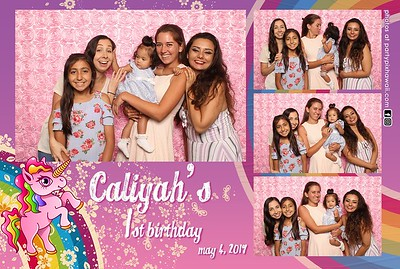 Caliyah's 1st Birthday (Mini Open Air Photo Booth 2)