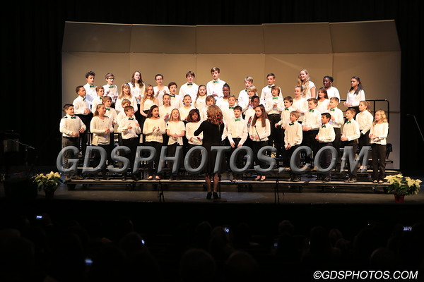 MIDDLE SCHOOL 5TH & 6TH GRADES CHRISTMAS CONCERT  12-07-2017