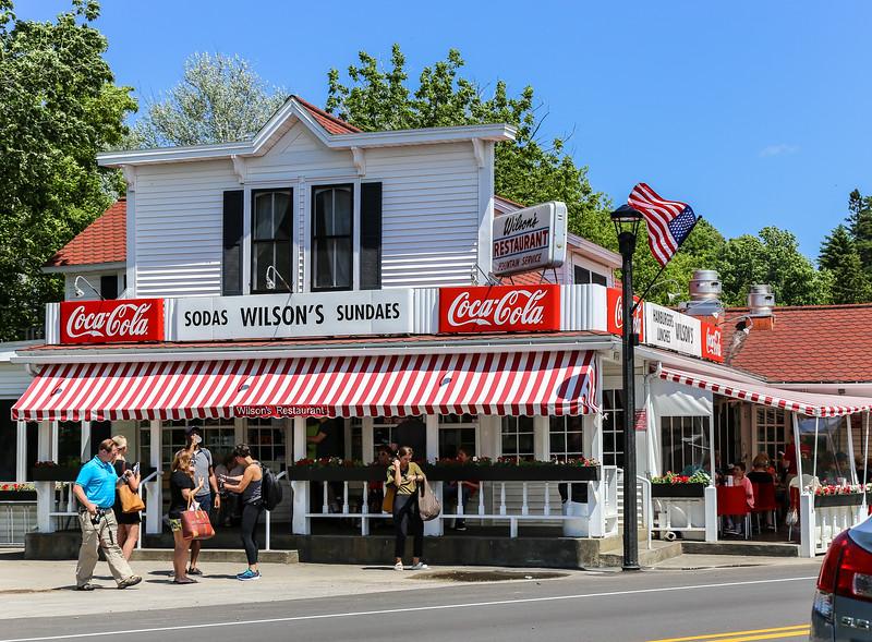 street view of wilson's corner store