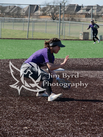 PHS softball vs Bowie 3-13-2019