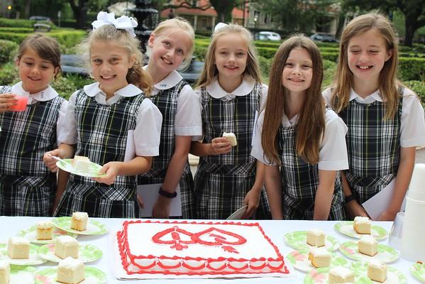 Passing of the Plaid & 4th Grade Liturgy (5.20.16)