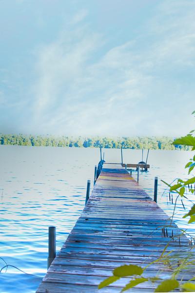 Wisconsin Summer Cabin Lake Views
