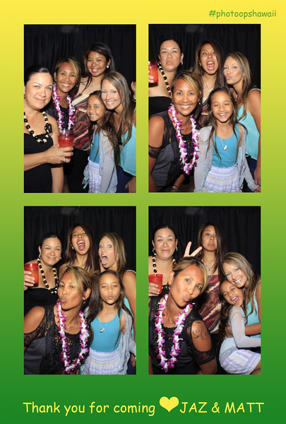 Jaz + Matt Graduation Parties (Stand Up Photo Booth