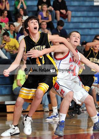 Boys JV Basketball - Lansing Christian at Mason - Dec 10