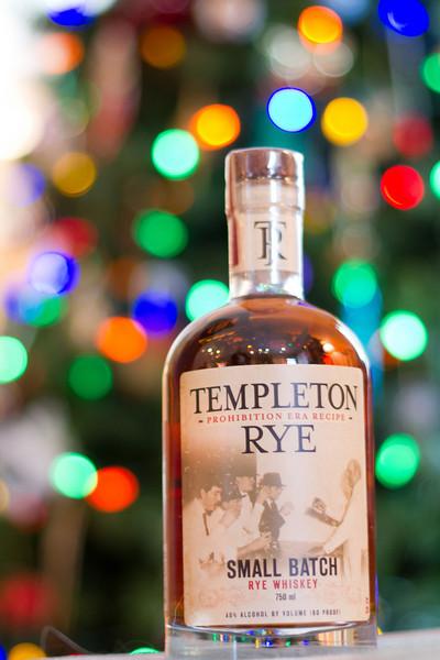 We all enjoyed some Templeton Rye for desert