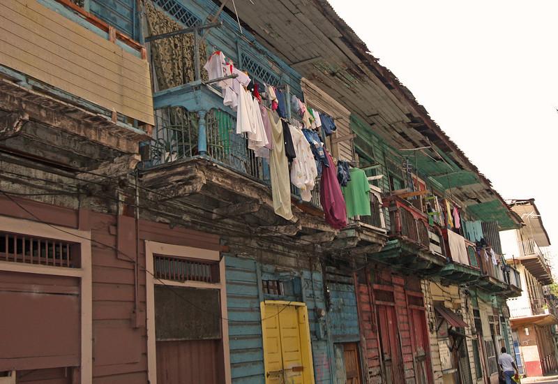 Colon section of Panama City