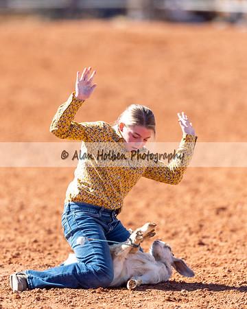Friday - 5th & Under - Goat Tying - Girls