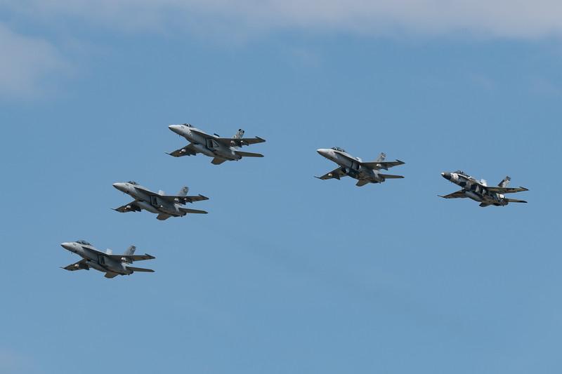 NAS Oceana Fleet Flyby