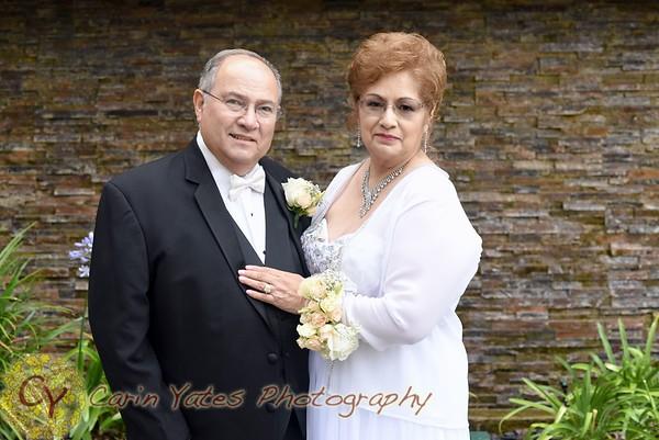 Castellanos 50th wedding vow renewal