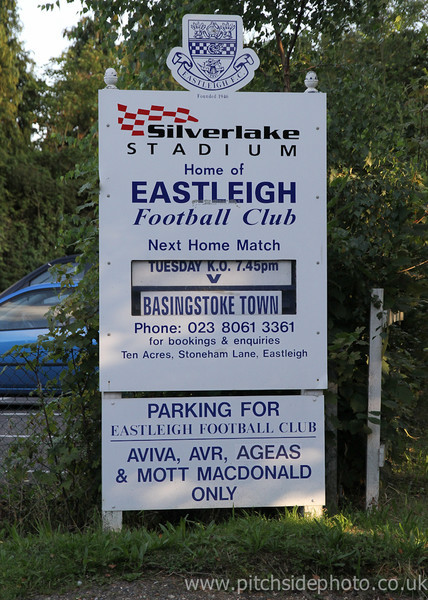 Eastleigh 1 Basingstoke Town 1 - Conference South - 21/8/12
