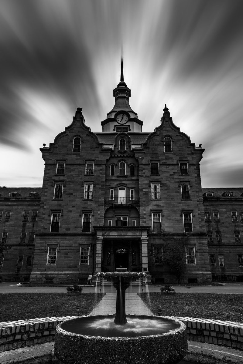 Trans-Allegheny Lunatic Asylum in Weston West Virginia
