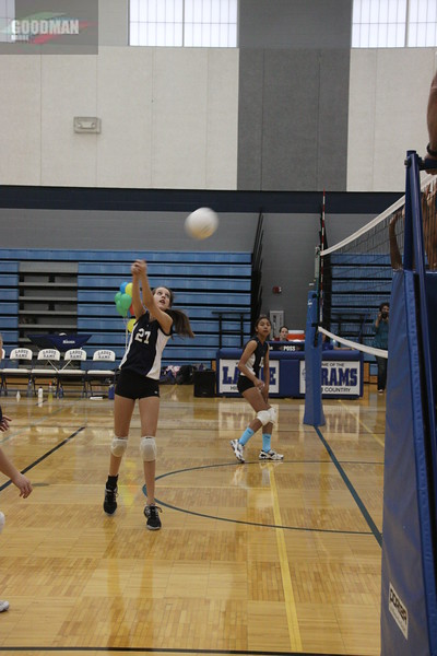 Ladue JV Vollyball Vs Lutheran North 10-12-2012