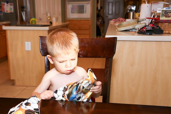 Wyatt's 2nd Birthday