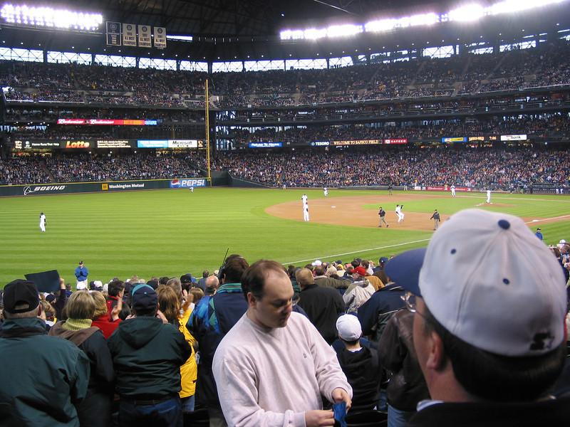 April 2002 Seattle v Yankees