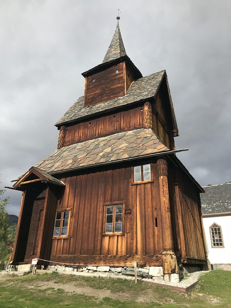 Torpo Stave Church with Ingrid
