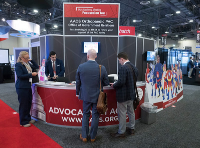 Advocacy Booth - OrthoPAC - E35