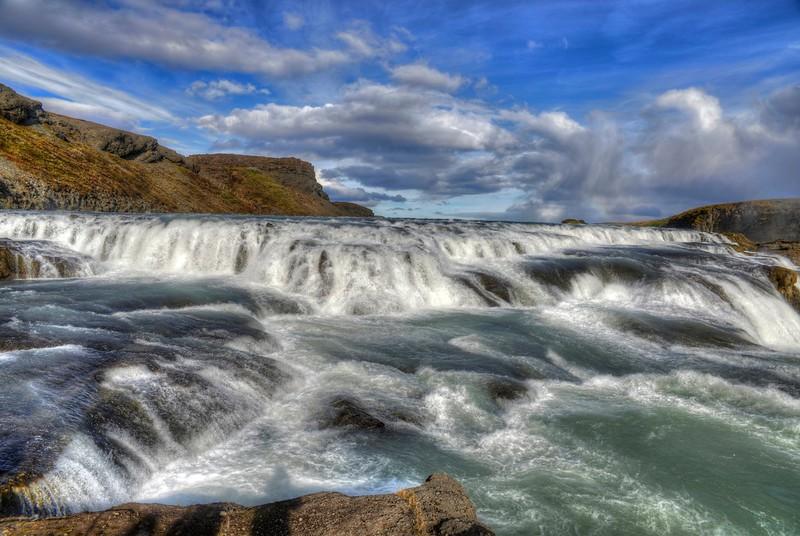 Gullfoss - upper falls