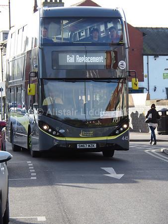Blackpool Transports ADL Enviro 400 City's 401 - 455