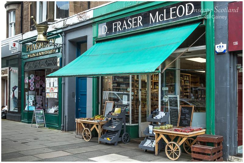 Fraser McLeod grocer shop, Marchmont Road