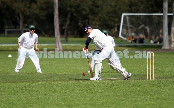 Maccabi Cricket v Powerhouse 13-10-12