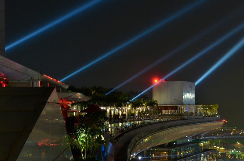 piercing into the night, MBS, Singapore