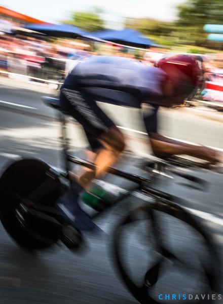 Wiggo speeding past Bradley Wiggins (Great Britain) at the London 2012 Olympics Time Trial