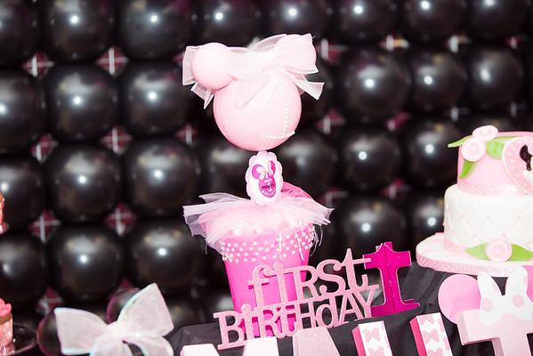 Mahima 1st Birthday