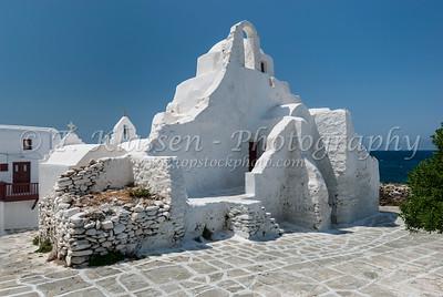 Mykonos, Churches