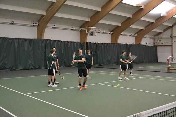 WUHS Boys Tennis Practice
