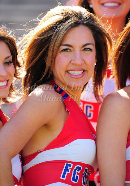 29, March 2009:  FC Dallas Cheerleaderin action during the soccer game between FC Dallas & Chivas USA at the Pizza Hut Stadium in Frisco,TX. Chivas USA  beat FC Dallas 2-0.Manny Flores/Icon SMI