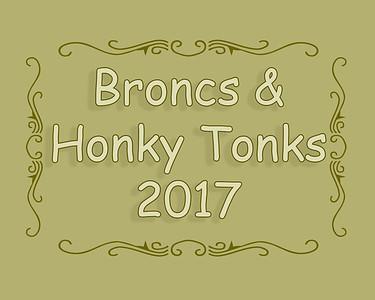 Broncs and Honky Tonks 2017
