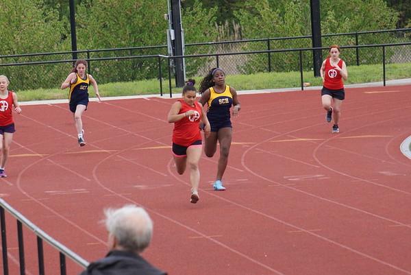Middle School Track & Field: GA vs SCHA