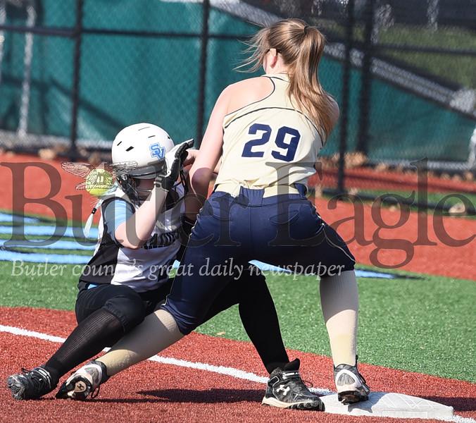 49261 Seneca Valley vs Butler softball game at Seneca Valley softball field