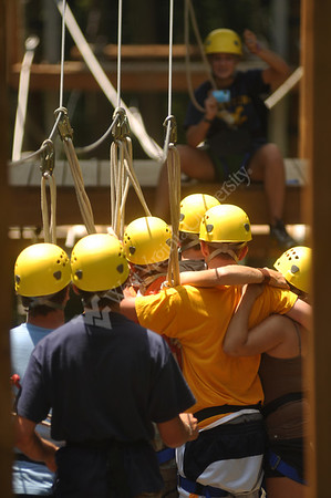 26187 Adventure Club rope climbing course