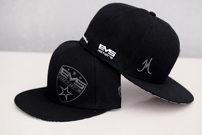 EVS Motors All Black Baseball Caps V.1