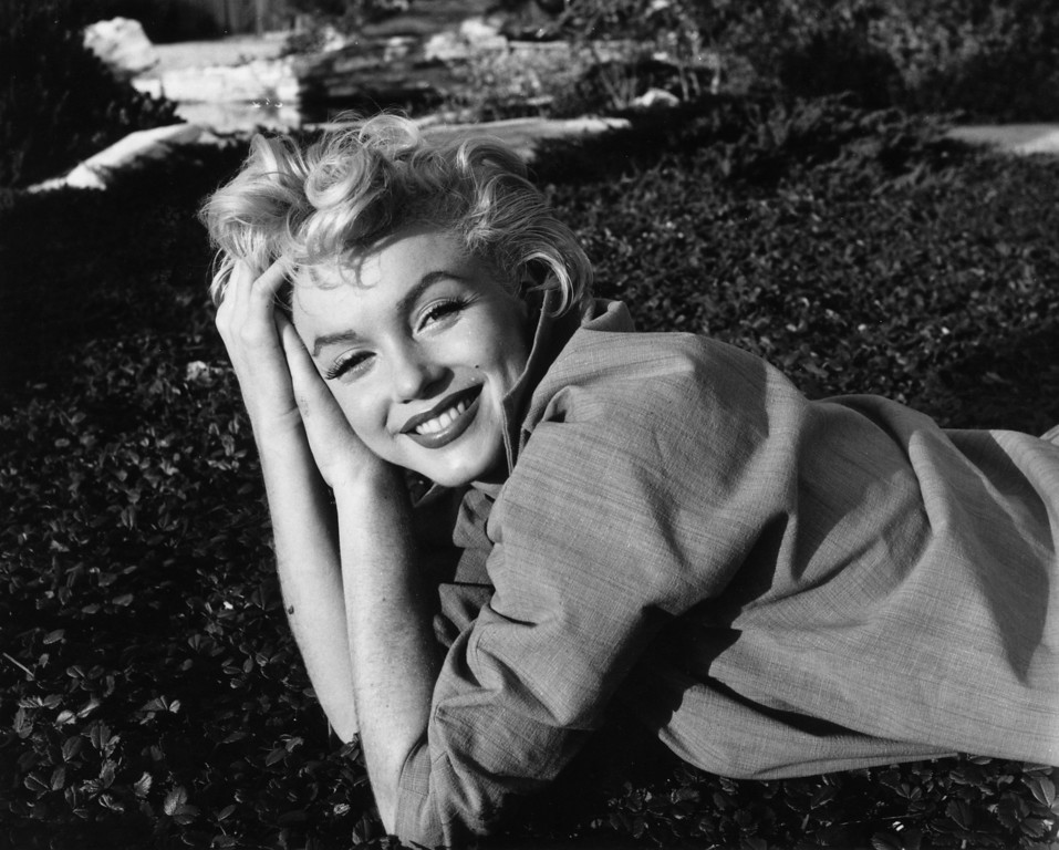 . 1954:  American film star Marilyn Monroe (1926-1962).  (Photo by Baron/Getty Images)