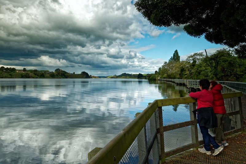 Lake Kaipiro in the Waikato