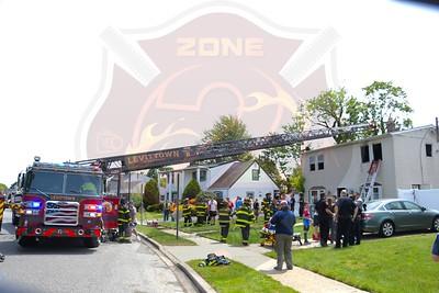 Levittown F.D. House Fire  Cotton Lane 5/16/21