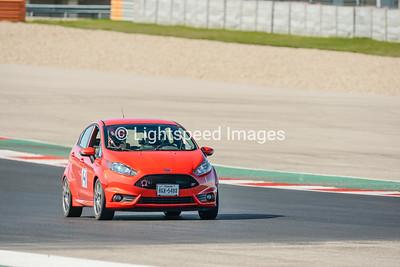 #14 Orange Ford Fiesta ST