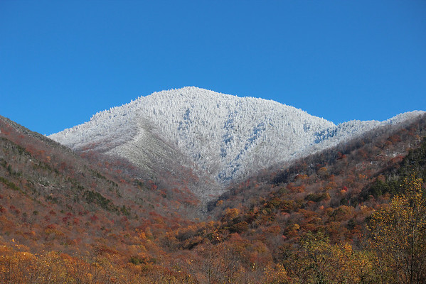 Smoky Mountains in the Snow