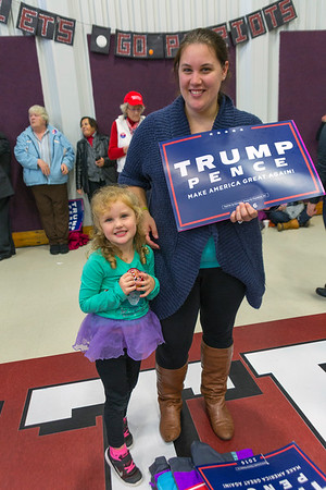Trump Rally, Lisbon, Maine