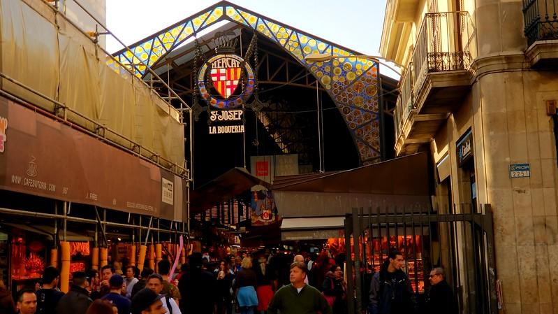 Barcelona Nov 23 17 Mercer de Sant Josep