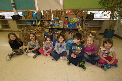 Church School Food Drive - December 15, 2012